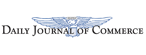 Daily Journal of Commerce logo MJ Takisaki best general contractor Spokane and Idaho